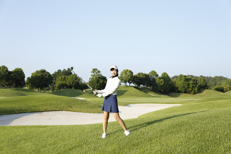 ゴルフ女子とクリーニング