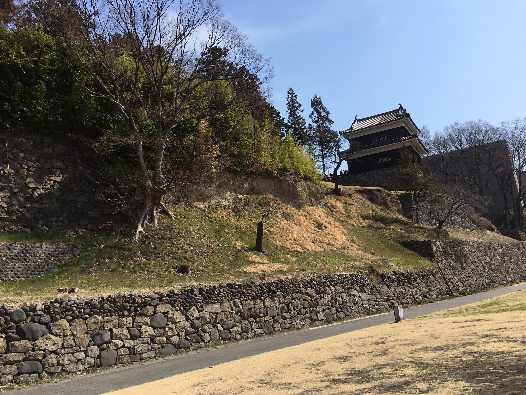 上田城跡、めっちゃ人気でしたよ♪