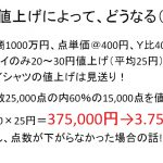 ドライ品20~30円の値上げの結果とは?