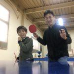 卓球対決!!