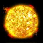 太陽と地球の距離を考えると・・・・。
