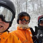 昨日は野澤スキー場で、今日は斑尾スキー場です。